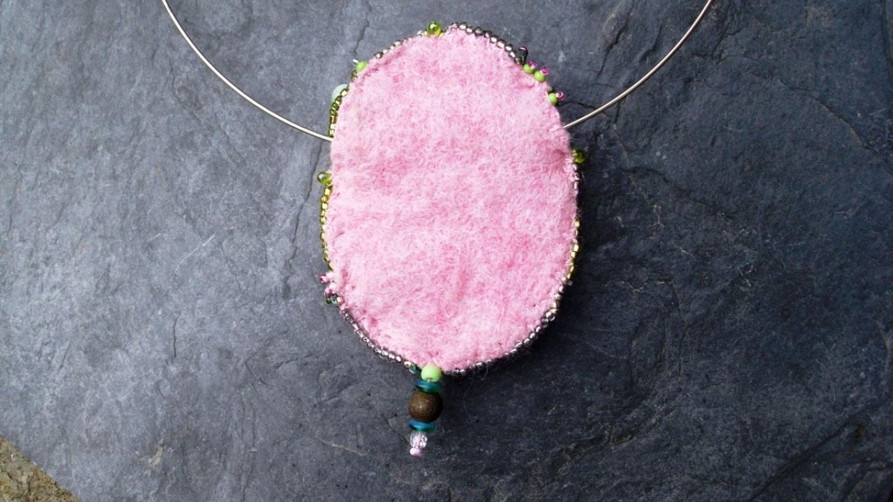 "Amulett ""Tulpenblüte"""