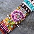 "Armband "" Hortensienblüten """
