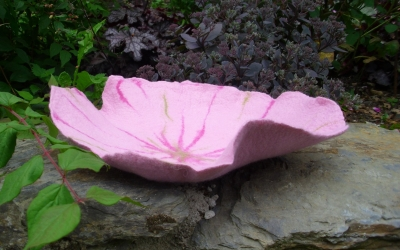 "Blütenschale "" Petunia rose """