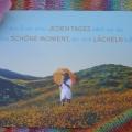 """Poncho """" Sommerlicht """""""